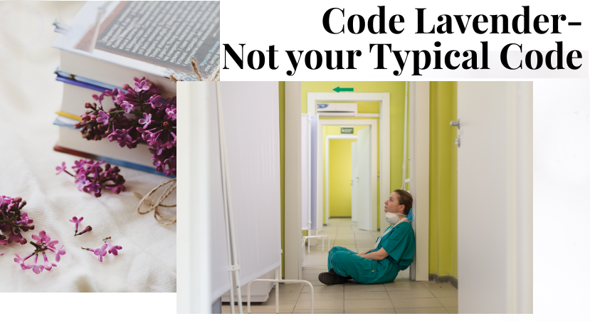 Code Lavender: Not a Typical Code - featured image